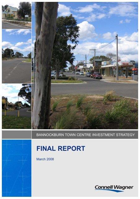 Bannockburn Town Centre Investment Strategy - Golden Plains Shire