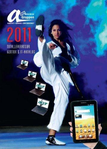 Agruppens katalog 2011