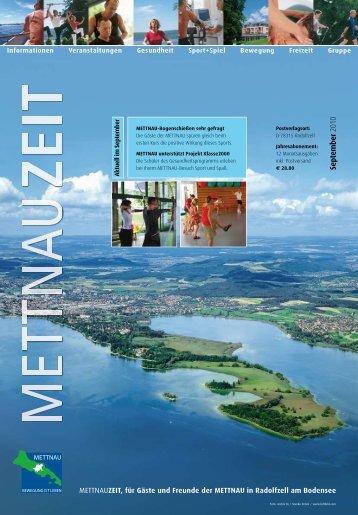 Informationen Veranstaltungen Gesundheit Sport+Spiel ... - mettnau