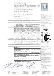 Bauteilprüfung - GREWI Handels GmbH