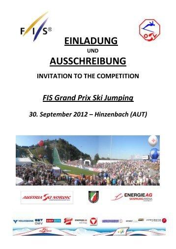 FIS Grand Prix Hinzenbach