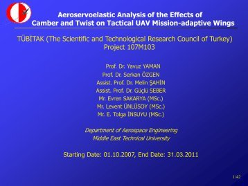 TUBITAK (The Scientific and Technological Research Council of
