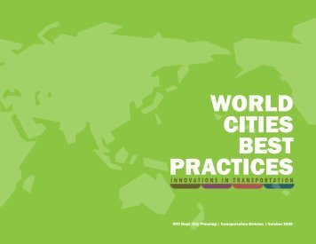 World Cities Best Practices - Innovations in ... - NYC.gov