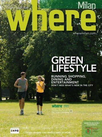 GREEN LIFESTYLE - Where Milan