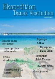Rejseavisen Dansk Vestindien Ekspedition - willum-design.dk