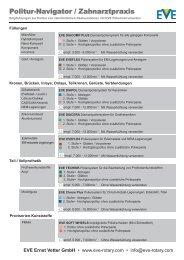 Navigator Medizin-Technik RZ_Layout 1 - EVE Ernst Vetter GmbH