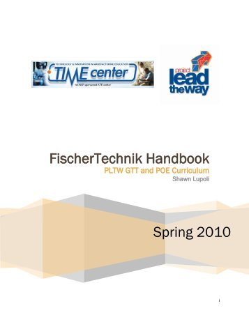 FischerTechnik Handbook - CCBC Faculty Web - The Community ...