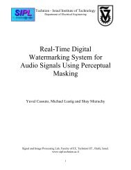 Real-Time Digital Watermarking System for Audio Signals ... - SIPL