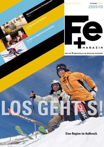 FE+ Magazin Ausgabe Dezember 2009 - Steirische Eisenstrasse