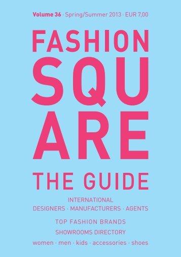 düsseldorf, 28–31 july 2012 ›botschaft ... - Fashion Square