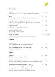 Speisekarte als PDF herunterladen - Yaoyao