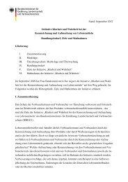 Initiative Klarheit und Wahrheit des BMELV September 2012