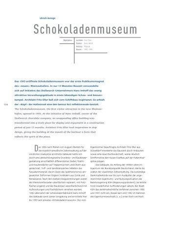 Schokoladenmuseum - Dr. Ulrich Krings