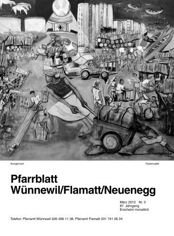 Pfarrblatt Wünnewil/Flamatt/Neuenegg - Pfarrei Wünnewil-Flamatt