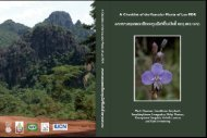 A Checklist of the Vascular Plants of Lao PDR - IUCN