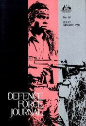 ISSUE 65 : Jul/Aug - 1987 - Australian Defence Force Journal