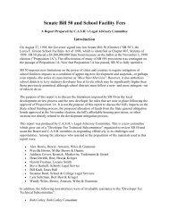 Senate Bill 50 and School Facility Fees - California's Coalition for ...