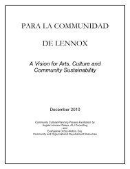 PARA LA COMMUNIDAD DE LENNOX - Los Angeles County Arts ...