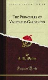The Principles of Vegetable-Gardening - Prepperlinks.net