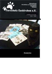 Kostenlos - Tierschutz Euskirchen eV
