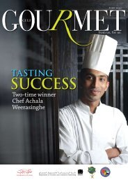 Chef Achala Weerasinghe - The Emirates Culinary Guild