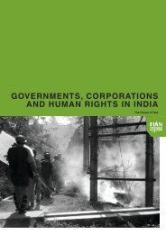 governments, corporations and human rights in india - Sanhati