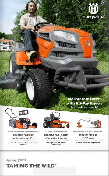to download latest catalog - DPH Mowers - Power Equipment