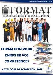 FORMATION POUR ENRICHIR VOS COMPETENCES