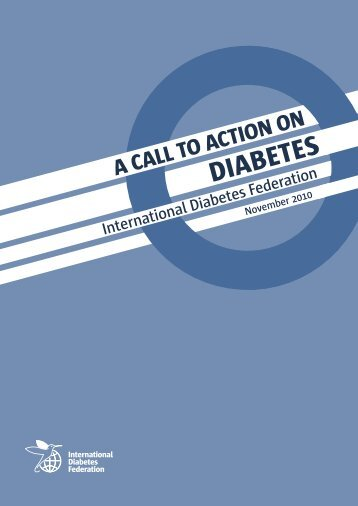 Call to Action on Diabetes - International Diabetes Federation