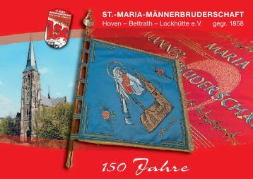 ST.-MARIA-MÄNNERBRUDERSCHAFT - festheft.de