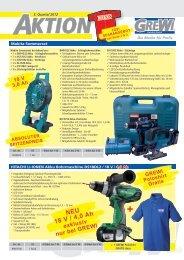 NEU 18 V / 4,0 Ah - GREWI Handels GmbH