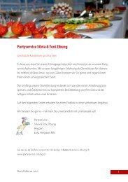 Partyservice Silvia & Toni Zibung - Party-Service Zibung