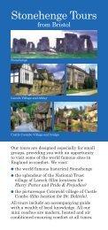 Stonehenge Tours - City Sightseeing Bristol