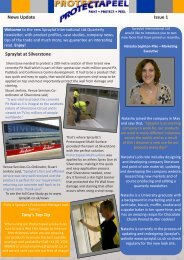 News Update Issue 1 Spraylat at Silverstone Tony's Top Tip
