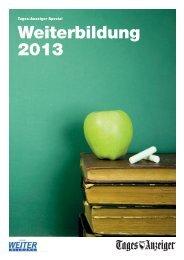 Tages-Anzeiger «Weiterbildung» 2013 - myTamedia