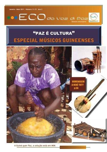 ESPECIAL MÚSICOS GUINEENSES - Musica da Guine-Bissau