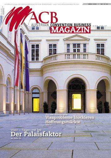 märz 2006 - Austrian Convention Bureau