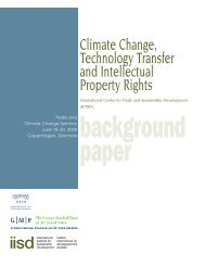 Climate Change, Technology Transfer and Intellectual Property Rights