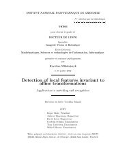 Detection of local features invariant to affine transformations