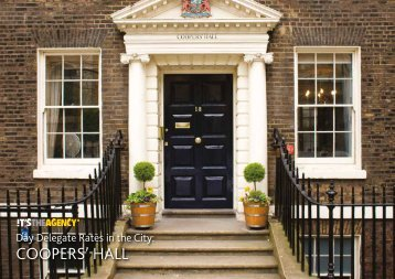 COOPERS' HALL - Chester Boyd
