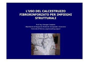 L'uso del calcestruzzo fibrorinforzato per impieghi strutturali