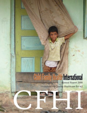 Our Vision - Child Family Health International