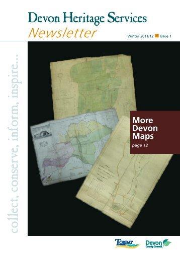 01466 Devon Record Office Newsletter Issue 1 - Devon County ...