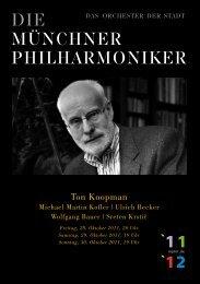 KlassikLine 0180 / 54 81 810 - Münchner Philharmoniker