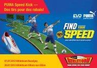 PUMA Speed Kick — Des tirs pour des rabais! - Athleticum