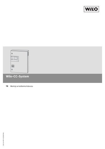 pdf-Download (Türkçe, 1009.7 KB) - Wilo-Online Katalog
