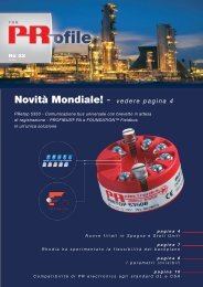 Novità Mondiale! - vedere pagina 4 - PR electronics
