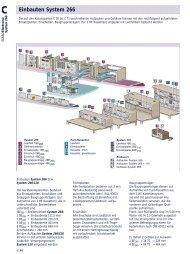 Einbauten System 266 - Tuttas Jensen