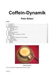 Coffein-Dynamik Peter Bützer
