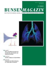 bunsenmagazin - Deutsche Bunsengesellschaft für Physikalische ...